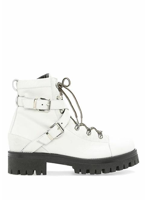 Nude Spor Ayakkabı Beyaz